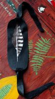 Feather Bracelet by lupagreenwolf