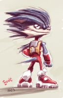 Warmup - Sonic The Hedgehog Reimagined by EryckWebbGraphics