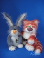 Fisheroff and Carrotoff by Mirettetoys