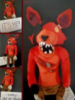 Handmade Five Nights at Freddy's Plushie - Foxy by HipsterOwlet
