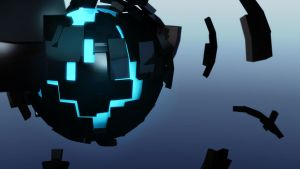 3D Abstract Ball Render - Wallpaper 1080 by Conorsta