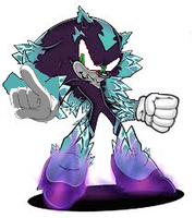 Mephile version Sonic by Raydeon1
