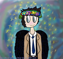 Flower Crown Cas by Fgpinky123