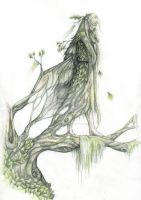 lady of the woods by queenofeagles