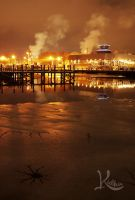 Steam Rising and Brew River by AbstractRealist
