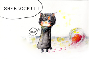 Sherlock! by chatonblanc