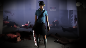 SFM - Bloody Femscout by wnses286