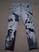 The Batman Pants - front by cheshirecatart