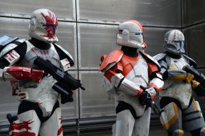 Star Wars Republic Commando Cosplay at the NSC by masimage