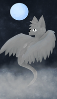 Winged Cat (Revamp of Don't Blink) by oreoSpark