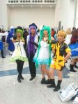 Vocaloid Group by Deathmankid