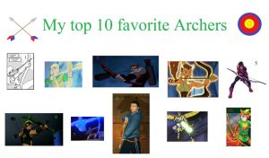 My Top 10 Favorite Archers