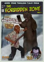 The Forbidden Zone issue 4 by StephenJames138