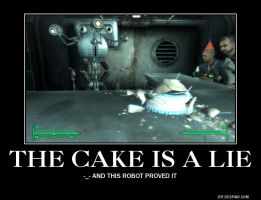 The Cake is A Lie Demote by RoninHunt0987