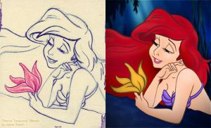 Ariel Colorization, PE style by criminally-VULGAR