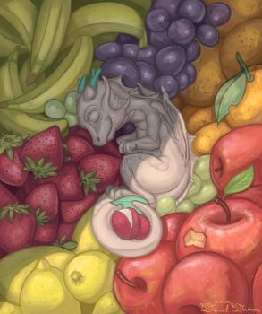Nap during The Day of Bountiful Harvest by Daniel-Daimon