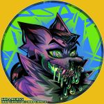 [Commission] Max Coyote S.N.U.G. Badge by Gullacass