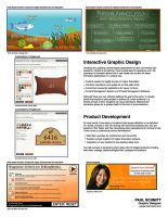 Graphic Design Porfolio Page Two by Gargantuan-Media