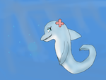 Doris the dolphin by JACP-GirlPoM