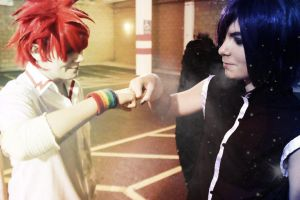 Two Sides of the Same Coin - D.N.Angel Cosplay- by LeatherAnd-Chocolate