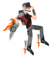 TF2 - Scout by texasellipses