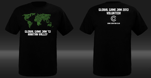 Global Game Jam 2013 T-Shirt by NerdySimmer