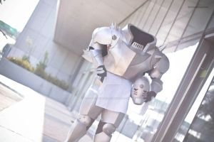 Alphonse Elric Cosplay by cheesymamon