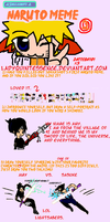 Amy's Naruto Meme of 42 by LadyQuintessence