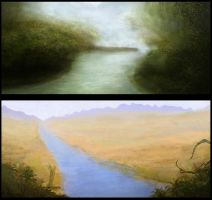 Some landscapes by WiredHuman