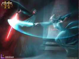 Atris vs Nihilus SWKOTOR by BlazeRider