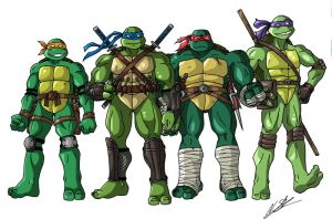 TMNT by taresh