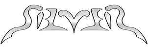 Silver Ambigram by rickxard