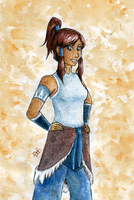 Korra by violent-cat