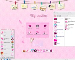 My desktop Kawaii by ietf4899Love