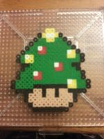 Christmas tree Mushroom by stephuhnoids