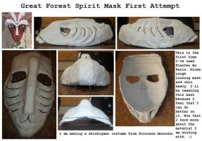 Great Forest Spirit Mask Fist Attempt by Di-Chan