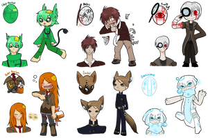 [HATCHED] Detectives n Machines by OkayIlie