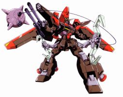 GAT-X370 Raider Gundam by jesualdo