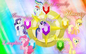 ~ The Elements Of Harmony Wallpaper ~ by Angelicsweetheart