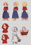 Little Red Riding Hood by K-mee
