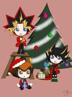 YGO: Happy Holidays by SakiRee