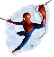 Spiderman Perspective Study by lberry1976