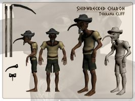 Shipwrecked Charon - Textured by rillani