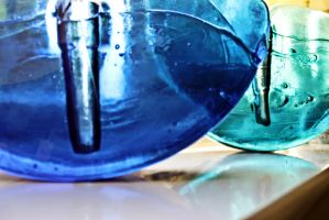 Glass bowls by RadicalDreamerSteph