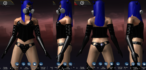 Devil Rayvyn, Alt Outfit 5 by AriaMournesong