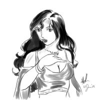 Firefly: Inara sketch by sharem