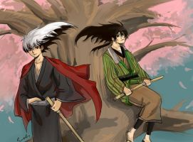 Nnm Rikuo and Rihan by Allenwalker14