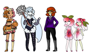 Old oc's or Adopts! ((1 left)) by askmypreciousbabues