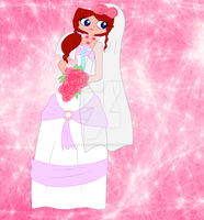 Rose's wedding dress by Andy-Rose1233
