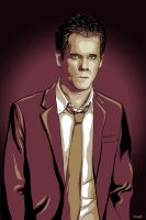Kevin Bacon by denisosulli